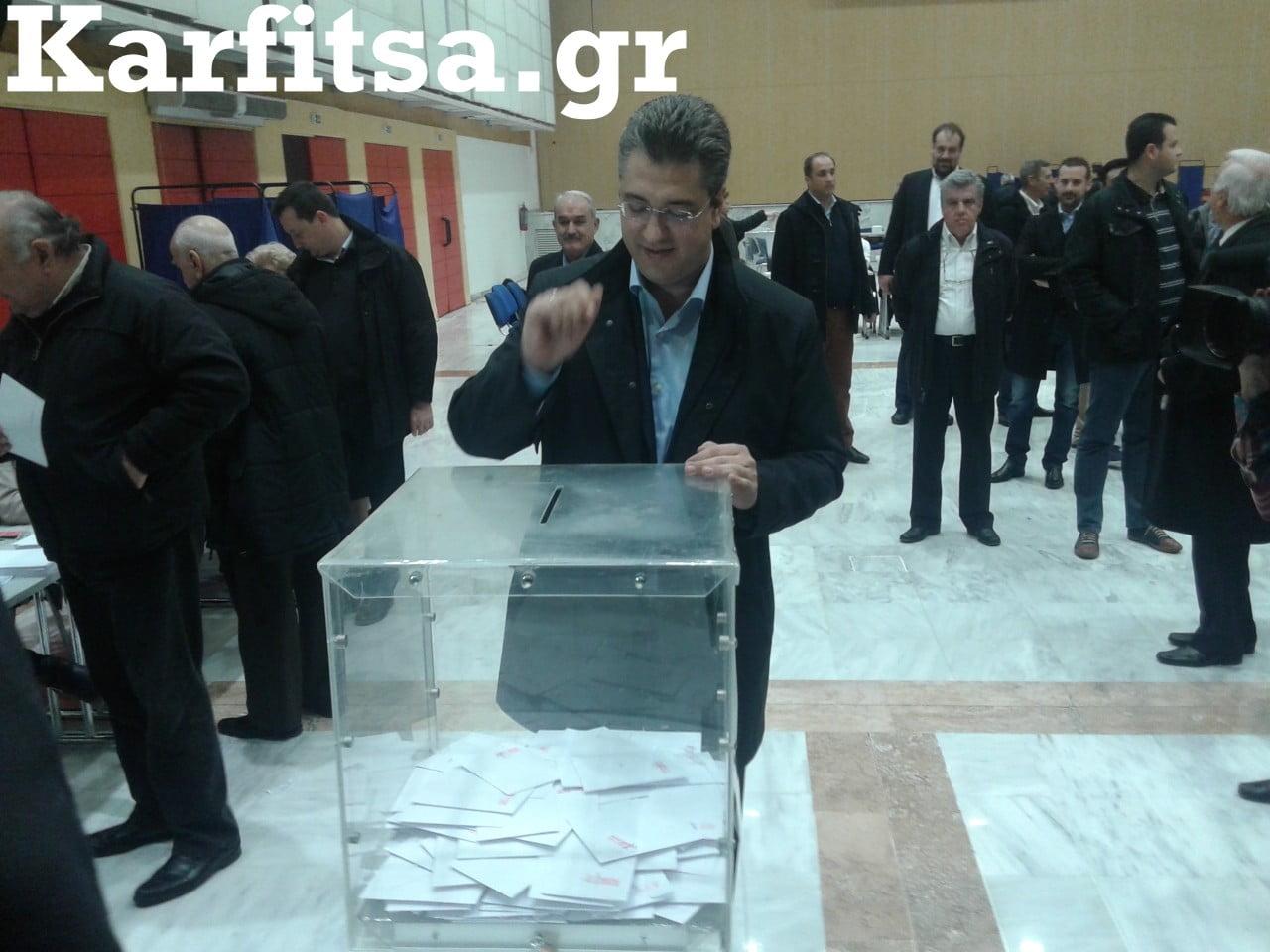 Τζιτζικώστας εκλογές ΝΔ β΄ γύρος