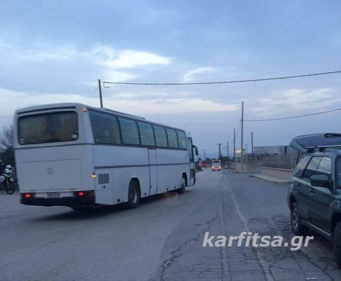 Λεωφορεία προσφύγων 2