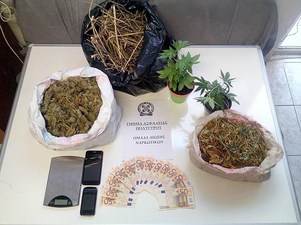 Ομάδα Δίωξης Ναρκωτικών Τμήμα Ασφάλειας Πολυγύρου