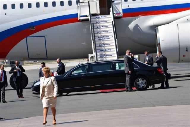 ΥΜΑΘ Πούτιν Μαρία Κόλλια-Τσαρουχά αεροδρόμιο Μακεδονία