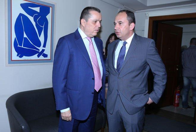 Με τον Γιάννη Πλακιωτάκη (πρώην Πρόεδρος της ΝΔ)