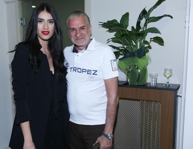 Γιώργος Κουτούλιας με τη Χριστιάνα Γεωργοπούλου