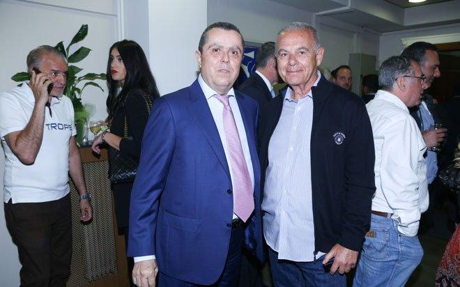 Με τον δημοσιογράφο Δημήτρη Σταυρόπουλο