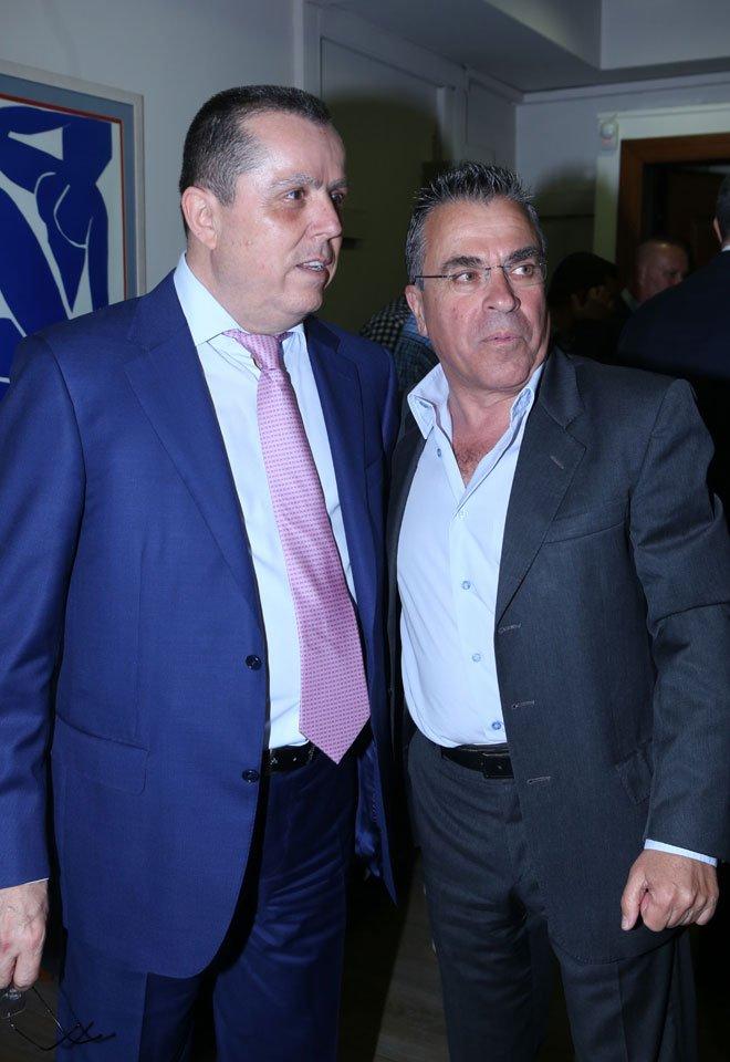 Με τον Αργύρη Ντινόπουλο (πρώην υπουργός)