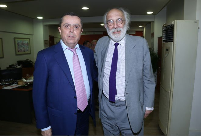 Με τον Αλέξανδρο Λυκουρέζο