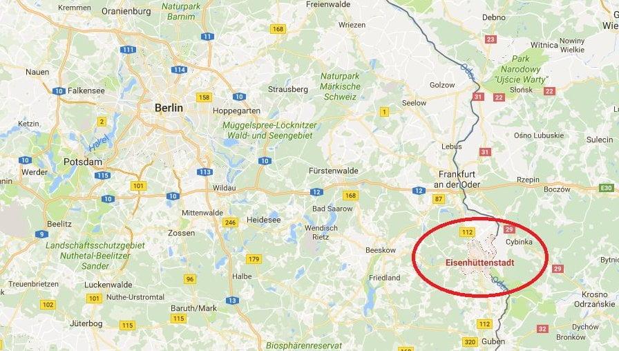 eisenhuttenstadt