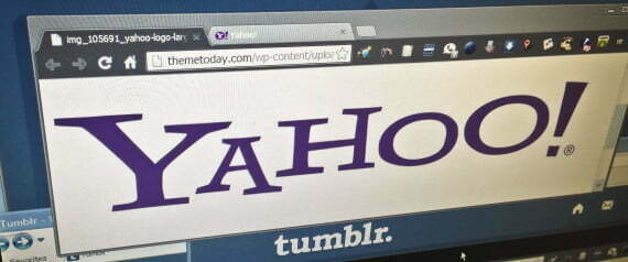 FILE - In this May 20, 2013, file photo, the web pages of Yahoo and Tumblr are displayed on a computer screen in New York. On Monday, July 25, 2016, Verizon formally announced that it is buying Yahoo for $4.83 billion, marking the end of an era for a company that once defined the internet. Nothing will change immediately to Yahoo email accounts and other services, but neither Yahoo nor Verizon said much about the once-venerable brand's future once Verizon takes over. (AP Photo/Bebeto Matthews, File)