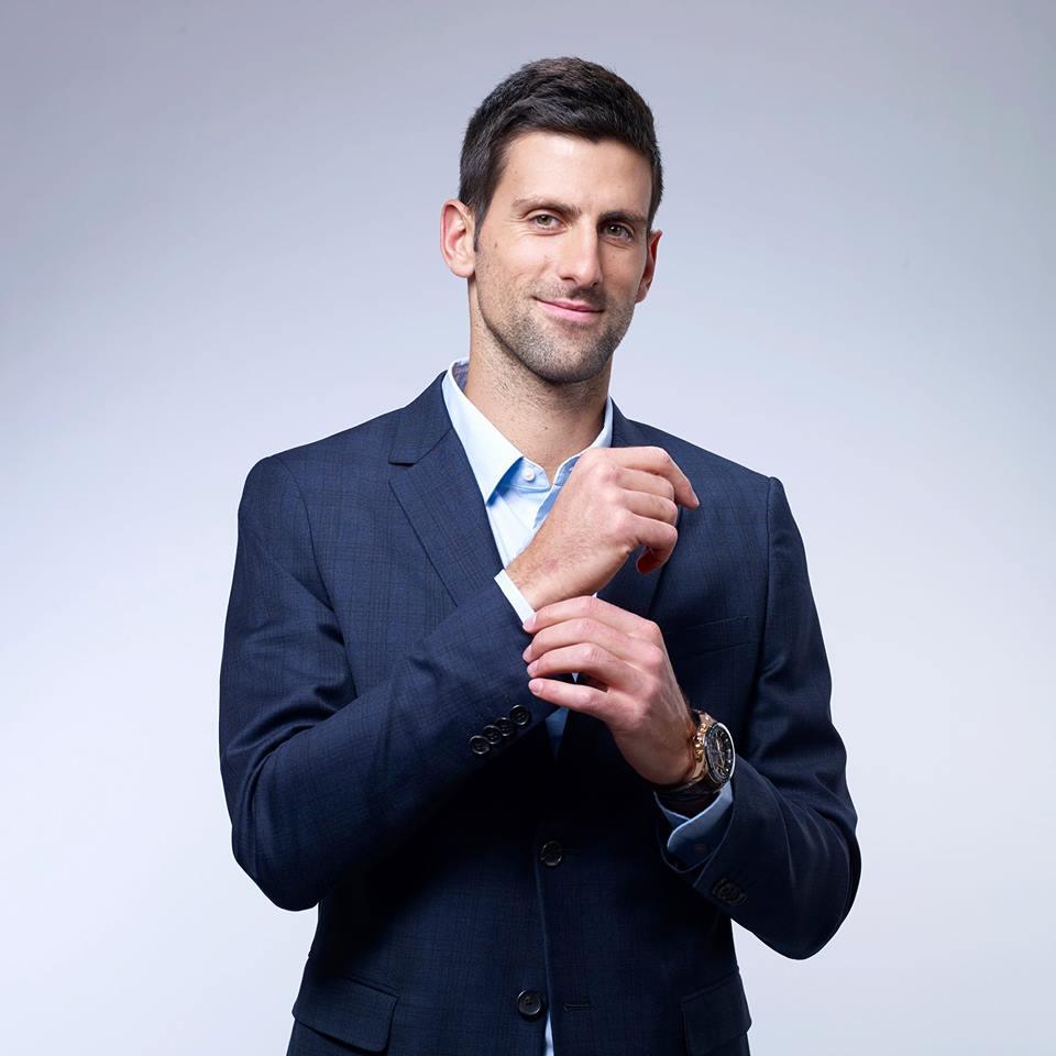 φωτο official fb page Novak Djokovic