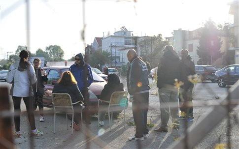 Ανήσυχοι οι κάτοικοι στην ευρύτερη περιοχή (Φωτογραφία: Intime )