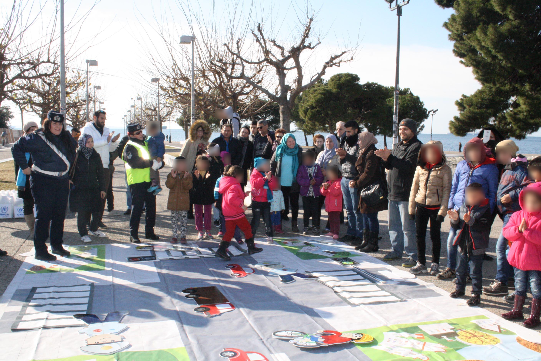 κυκλοφοριακή αγωγή προσφυγόπουλα