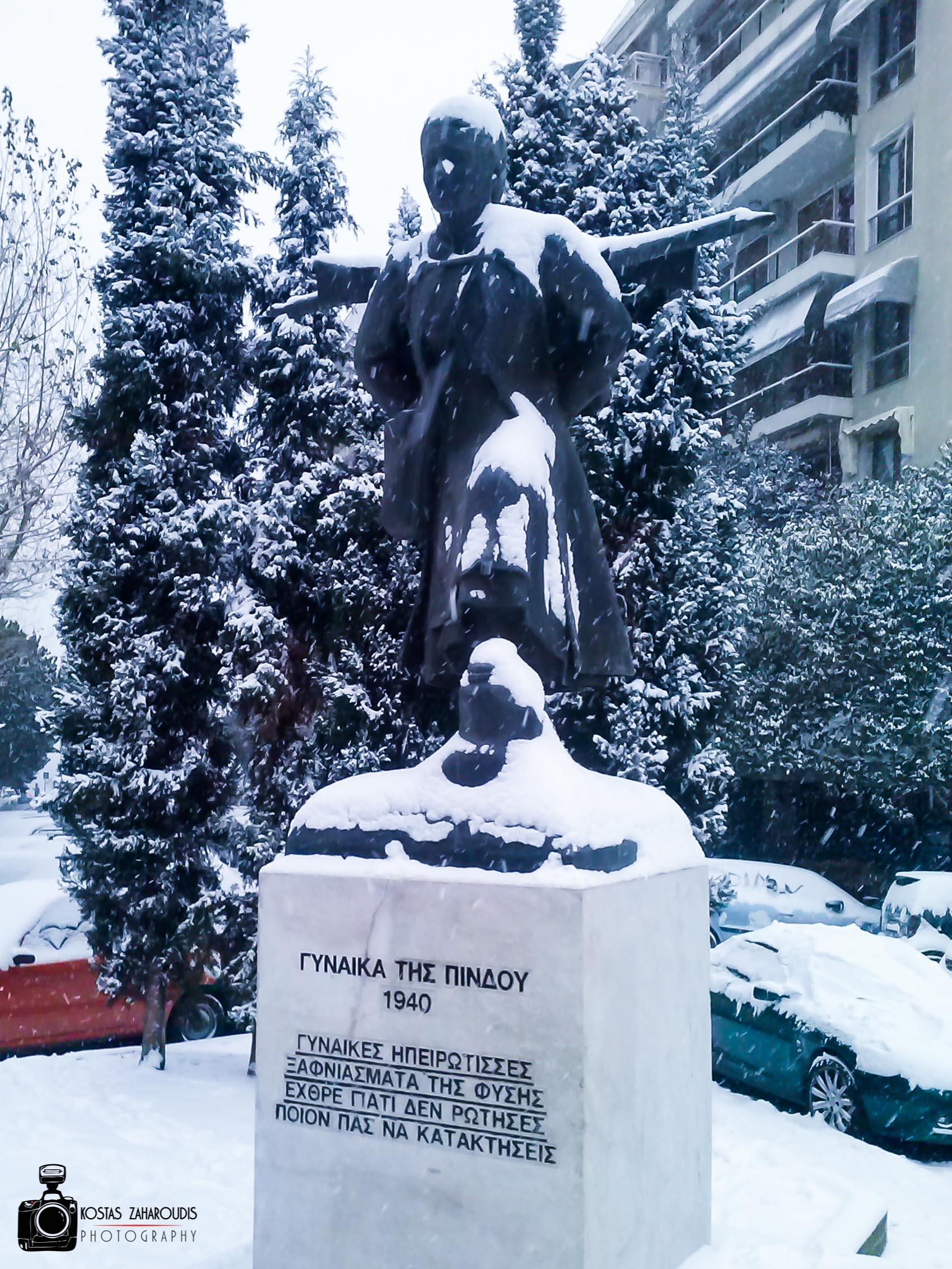 χιονι Κώστας Ζαχαρούδης