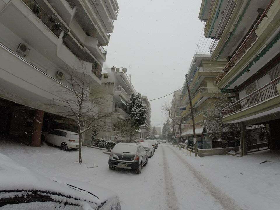 χιόνι, φωτο Σάββας Αυγητίδης