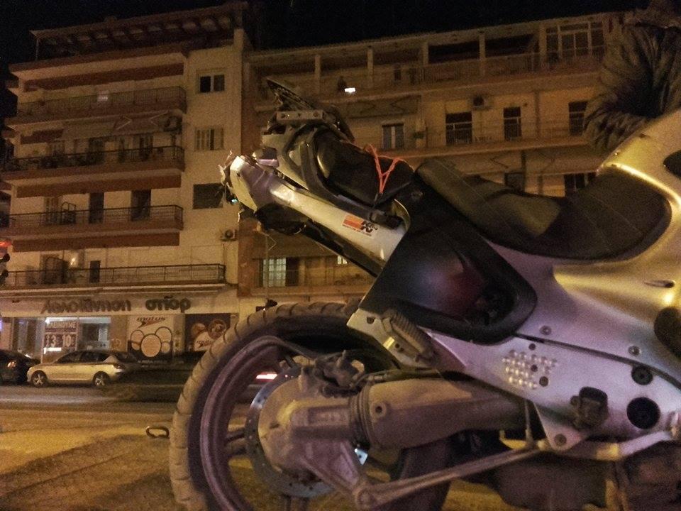 Τροχαίο στη Θεσσαλονίκη