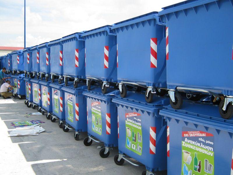 Πρωταθλήτρια η Θεσσαλονίκη στην ανακύκλωση, αλλά …χωρίς μπλε κάδους